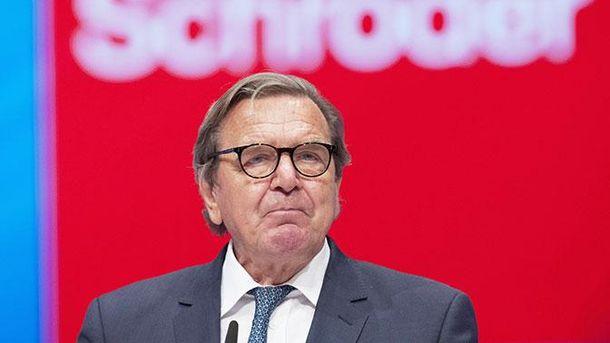 Шредер вимагає покращення відносин ЄС із Росією та Туреччиною
