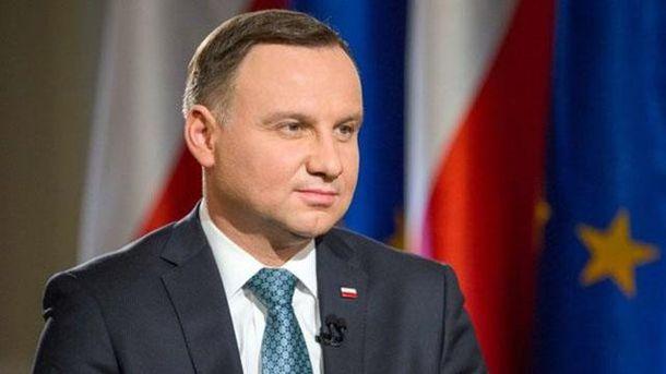 Дуда приїде до України з офіційним візитом