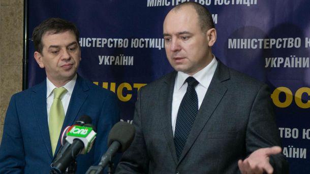 Сергій Грибань (праворуч)