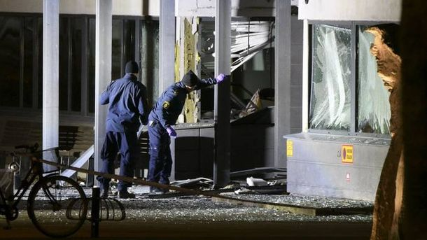 В Швеции произошел взрыв