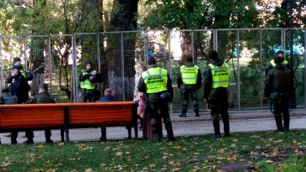 Силовики штурмовали палаточный городок в Киеве