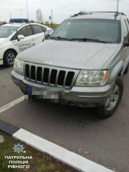 9-річного водія затримали на Рівненщині