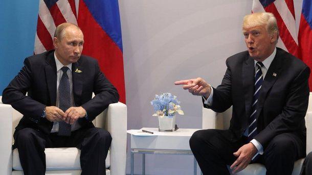 Трамп не хоче конфлікту з Путіним