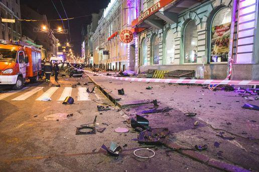 Появилось видео с ближайшей камеры от места ДТП в Харькове