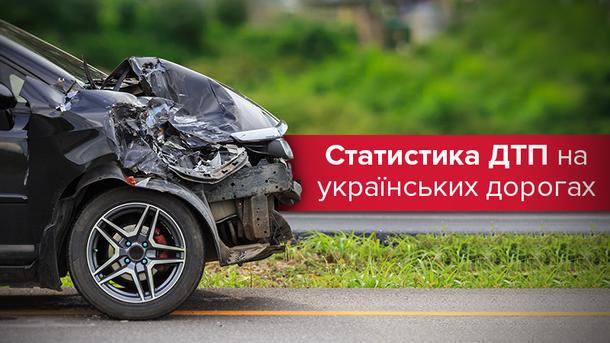 Статистика ДТП в Украине хуже, чем год назад: шокирующие данные