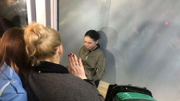 Олена Зайцева у суді