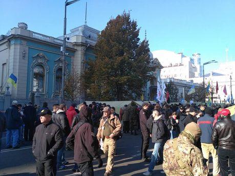 Протест под Верховной Радой: первые результаты и ультиматум власти