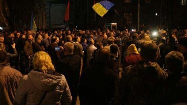 Протестующие озвучили новый ультиматум Порошенко