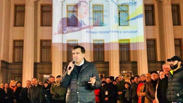 Саакашвили заявил об избиении и депортации трех его соратников