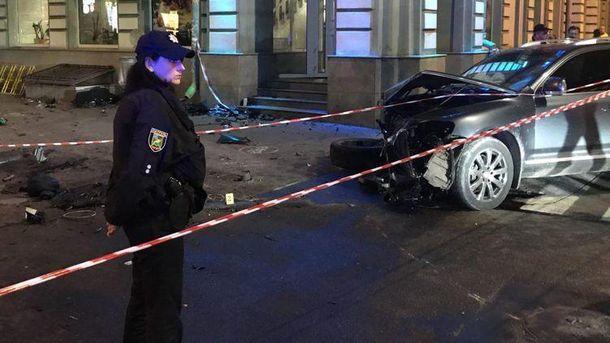 Последствия кровавого ДТП в Харькове