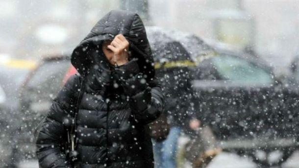 В Україні випаде перший сніг