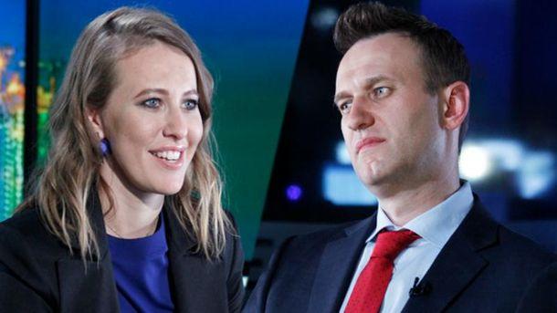 Навальный пока не комментирует намерение Собчак баллотироваться в президенты