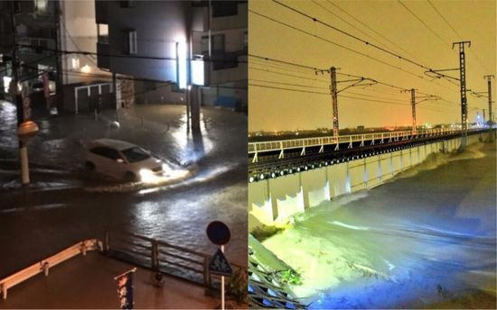 Через наближення тайфуну вЯпонії скасували сотні авіарейсів