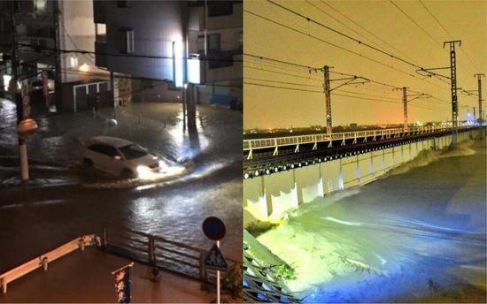 Мощнейший тайфун «Лан» сбешеной скоростью несется кберегам Японии