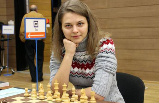 Украинка Анна Музычук выиграла чемпионат Европы побыстрым шахматам