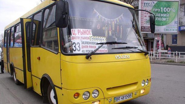Транспортний колапс у Херсоні