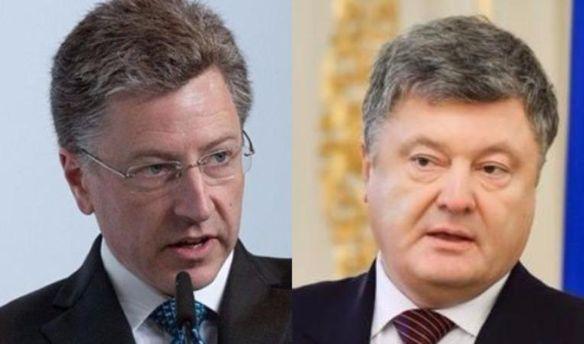 Порошенко запланировал встречу с Волкером