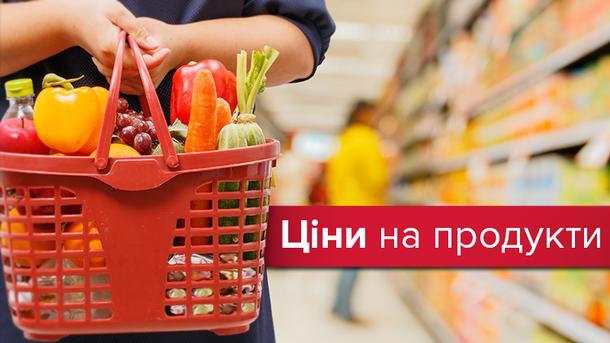 Ціни на продукти продовжують рости