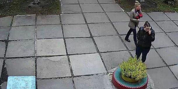 20-річна Даяна Шаль за мить до викрадення немовляти у Києві