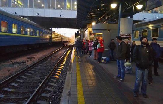 ВКиеве центральный вокзал эвакуировали из-за угрозы взрыва