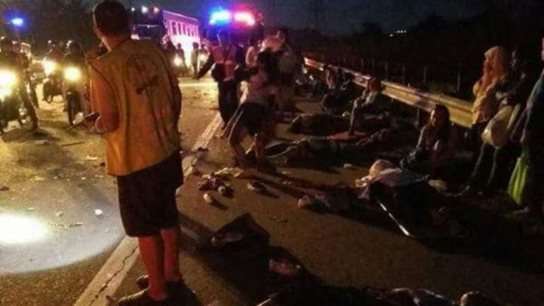 ДТП в Малайзии: 8 женщин погибли