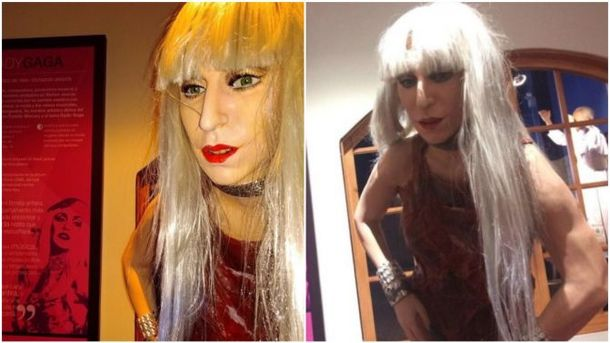 Воскова фігура Леді Гага