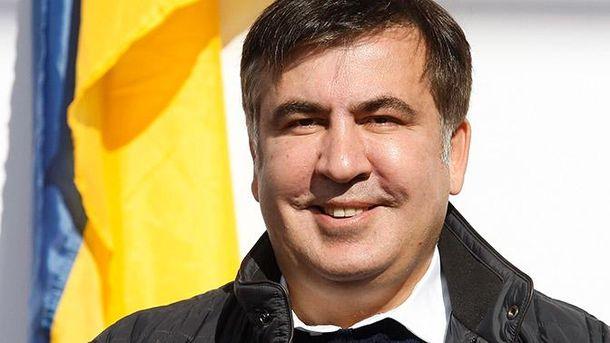 Саакашвили анонсировал митинг под Радой в среду вечером