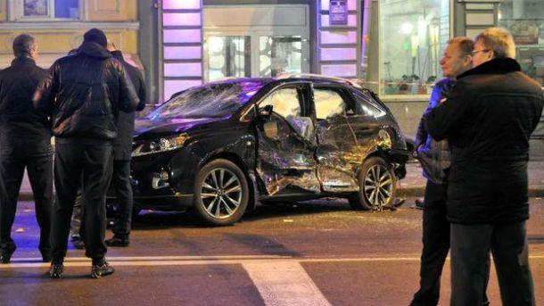 Авария в Харькове на Сумской