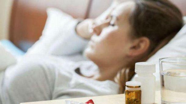 В Киеве 14 тысяч больных гриппом