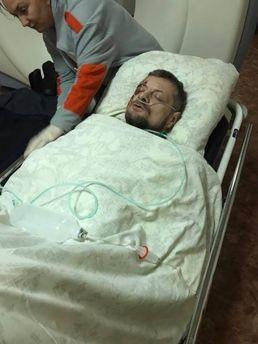 Мосчійчук у лікарні
