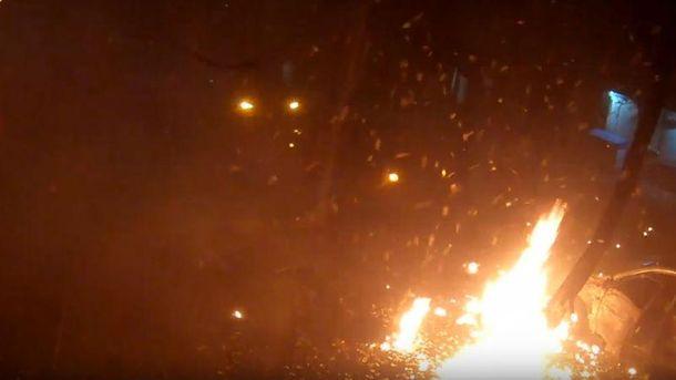 Появилось видео первых минут после покушения наМосийчука