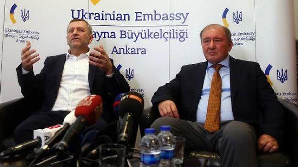 Ільмі Умеров та Ахтем Чийгоз дали перші  коментарі після звільнення