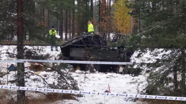 Аварія у Фінляндії