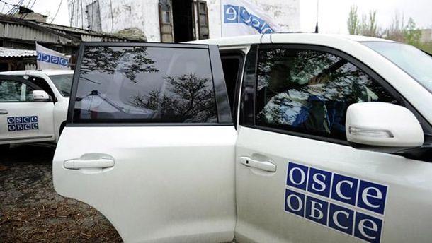 Терористи залякували представників ОБСЄ