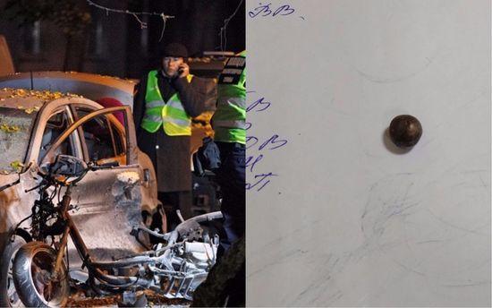 Постраждала під час вибуху поблизу телеканалу «Еспресо» прийшла дотями