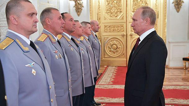 Владимир Путин – новый русский царь