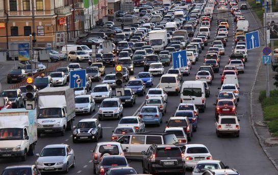 Ситуація на дорогах Києва