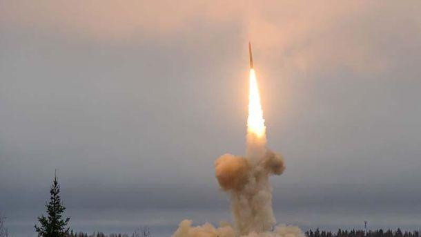 Запуск балістичних ракет в Росії