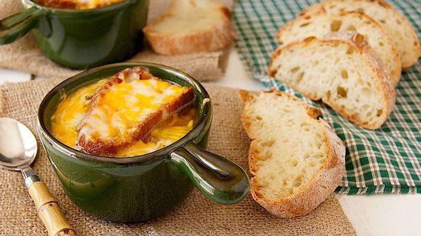 Рецепт французького цибулевого супу