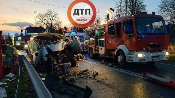 В аварии в Польше погибли 2 украинцев