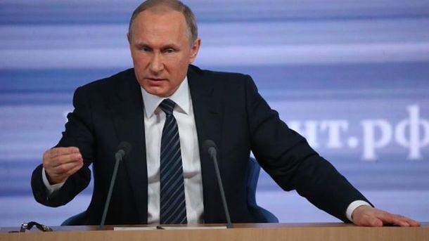 Путин  боится санкций
