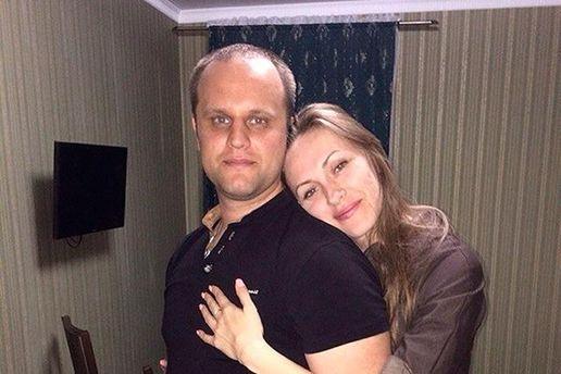 Жену Губарева попытались задержать сотрудники