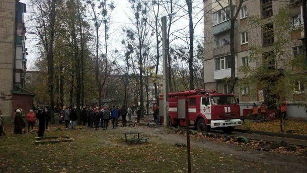 Вжилом доме Харькова произошел взрыв