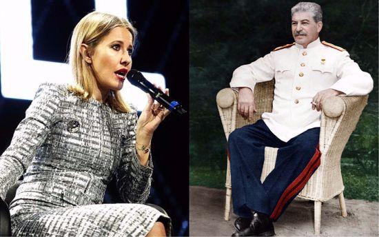 Собчак раскритиковала Сталина и отношение к нему в России