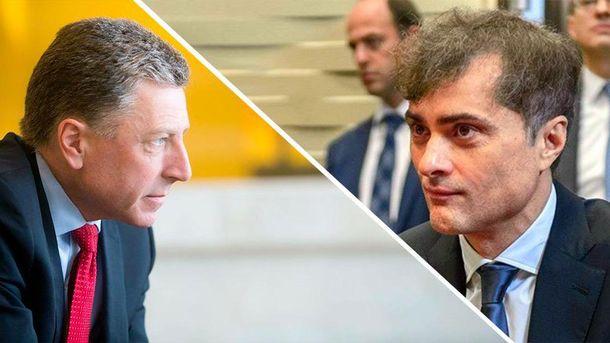 Стала известна дата встречи Суркова иВолкера