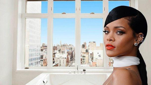 Рианна покидает арендованный пентхаус в Нью-Йорке: роскошные фото