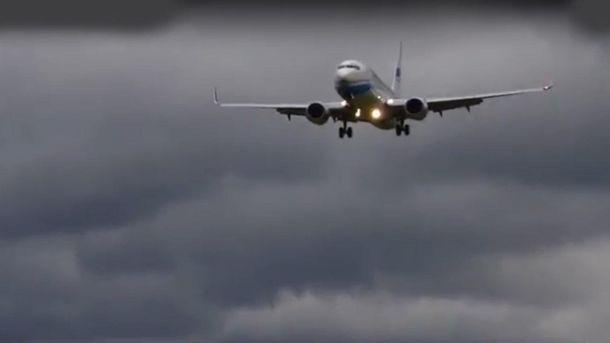ВАвстрии из-за урагана Герварт едва наразбился Boeing