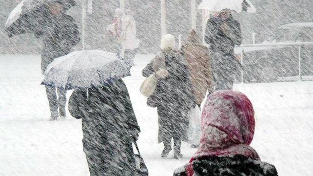 Погода на 31 жовтня: штормовий вітер та мокрий сніг