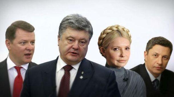 Кто из политиков официально заявил о намерении принять участие в выборах президента Украины-2019