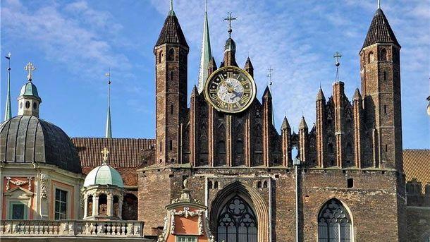 Упольському Гданську загинув українець, який ремонтував базиліку